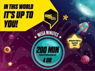 Gnctrkcll Mega Minutes Package