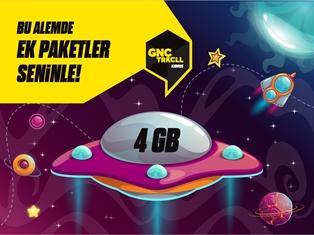 Gnçtrkcll Ek 4GB Paketi