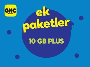 Gnçtrkcll 10GB Plus Paketi
