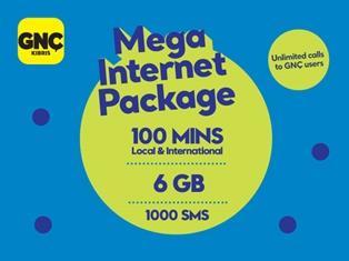 GNÇ Mega Internet Package