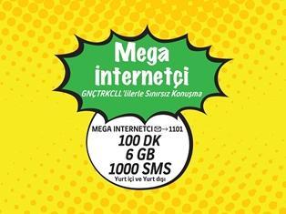Gnçtrkcll Mega İnternetçi Dönüşen Paket