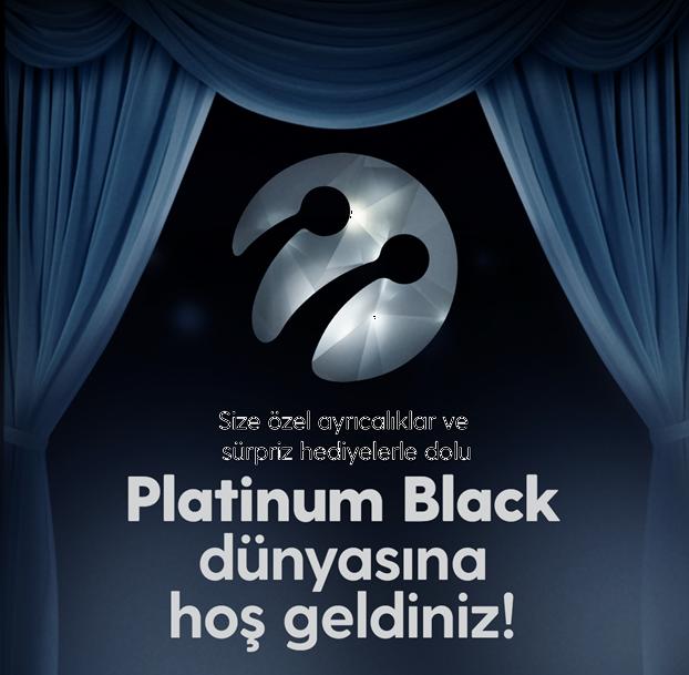 Platinum Black Dünyasına Hoş geldiniz...