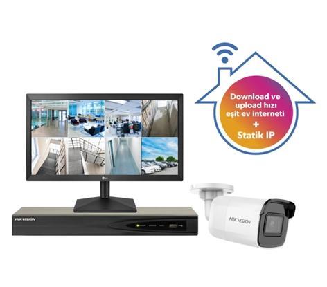 Turkcell Ev İnterneti İle Evin Güvende (8 Kameralı Sistem)