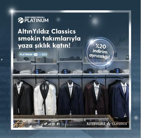 Turkcell Platinum'lular, Altınyıldız Classics ile yaza şıklık katıyor!