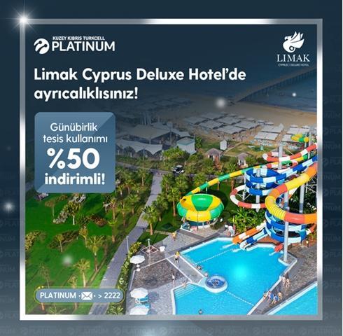 Limak Cyprus Deluxe Hotel'de ayrıcalıklısınız!