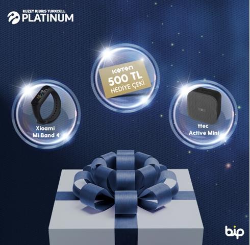 Platinum ile sürpriz hediyeler