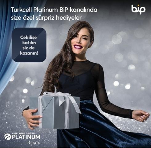 Platinum Black ile Size Özel Düşünülmüş Hediye ve Sürprizlerle Keyiflenin!