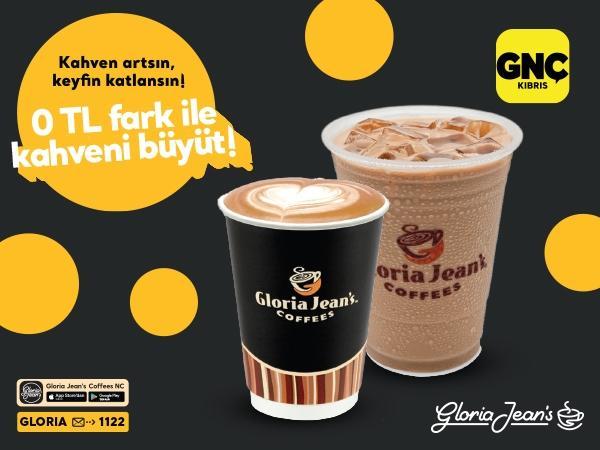 GNÇ'liler Gloria Jean's Coffees'de çok avantajlı!