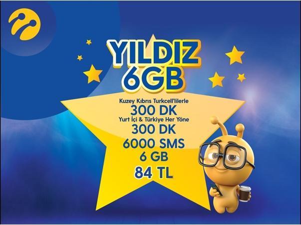 Yıldız 6GB Paketi
