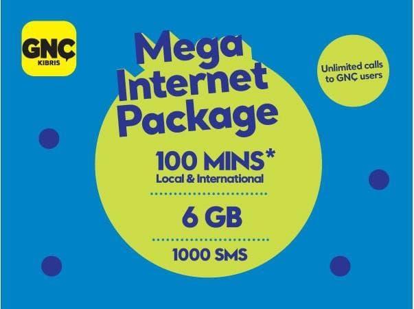 Gnçtrkcll Mega İnternetçi Paket
