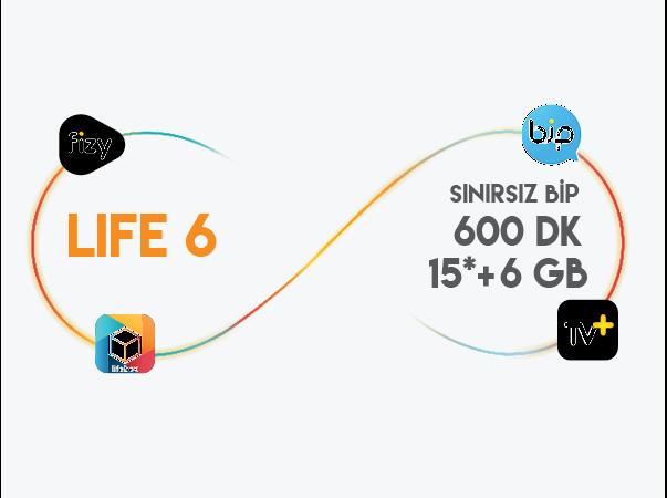 lifecell 6GB Paketi