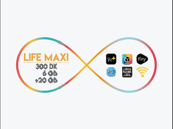 lifecell Maxi Paketi