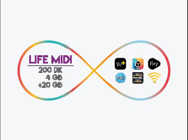 lifecell Midi Paketi