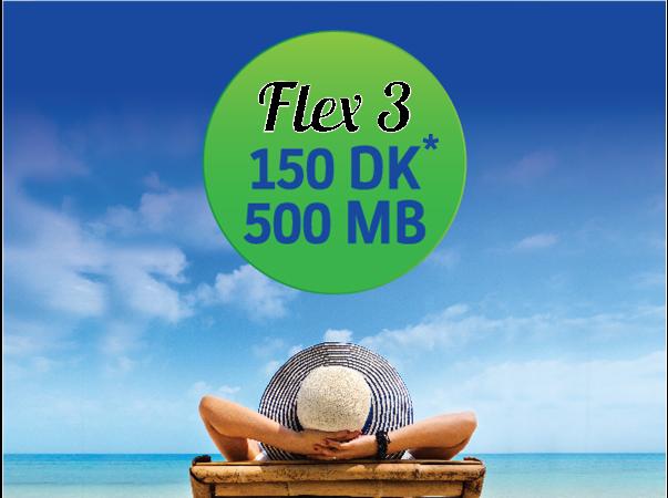 Tourist Flex 3 Package