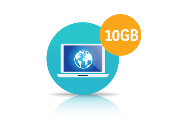 10GB Internet Package