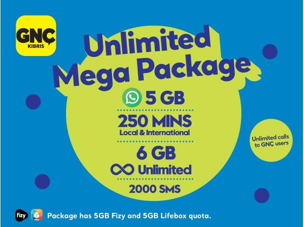 Gnçtrkcll Prepaid Unlimited Mega Package