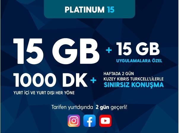 Platinum 15GB Paketi