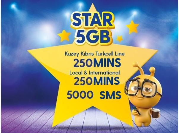 Star 5GB Package