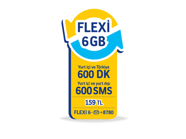 Flexi 6GB Paketi