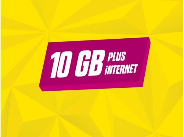 faturasız gnçtrkcll Ek 10GB Plus
