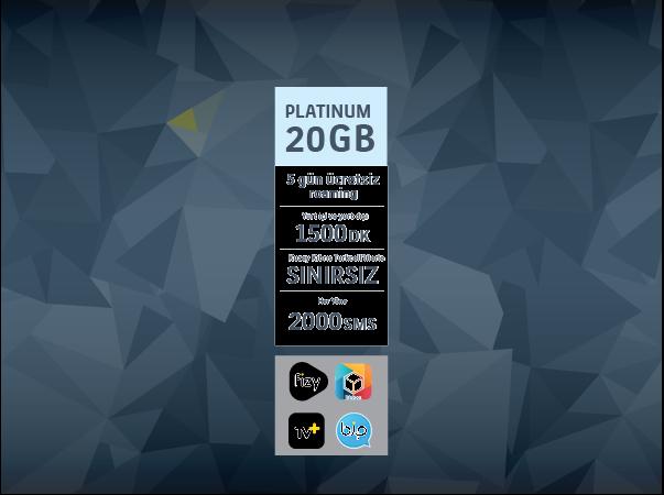 Platinum 20GB Paketi