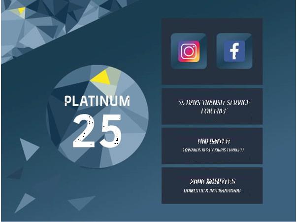 Platinum 25GB Package