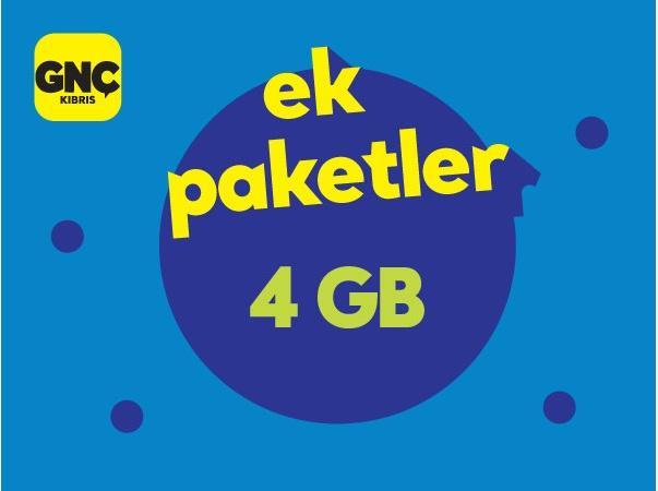 Gnçtrkcll 4GB Cepten İnternet Paketi