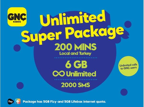 Gnctrkcll Prepaid Evet Lasting Super Package