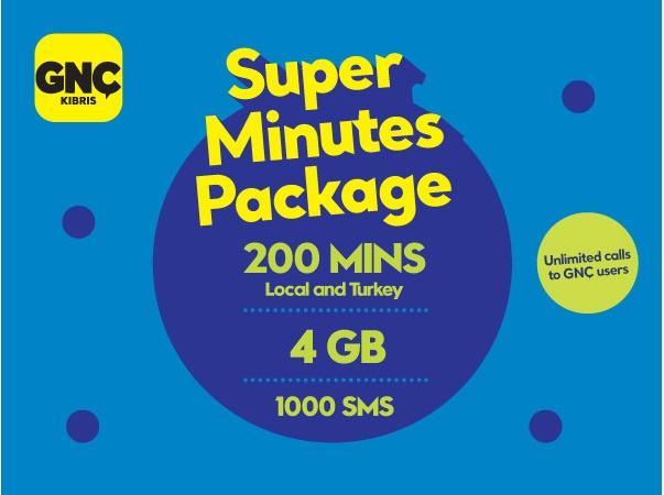 Gnctrkcll Super Minutes Package