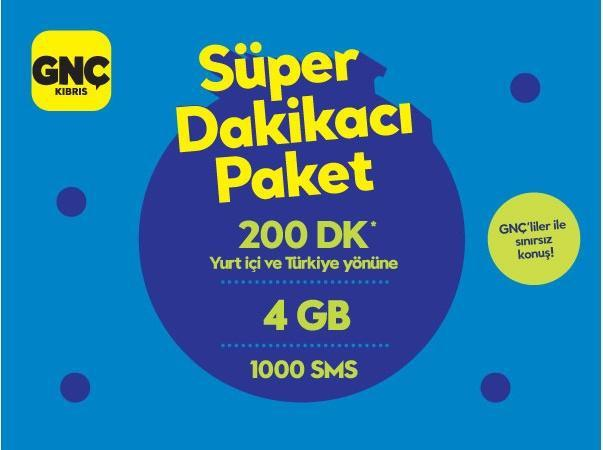 Gnçtrkcll Süper Dakikacı Paket