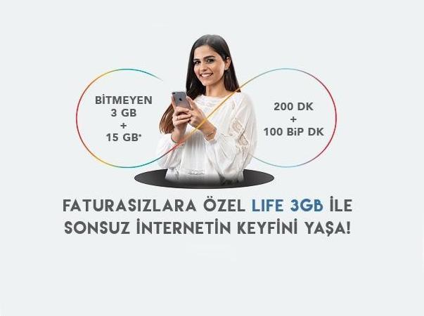 Life 3GB Paketi