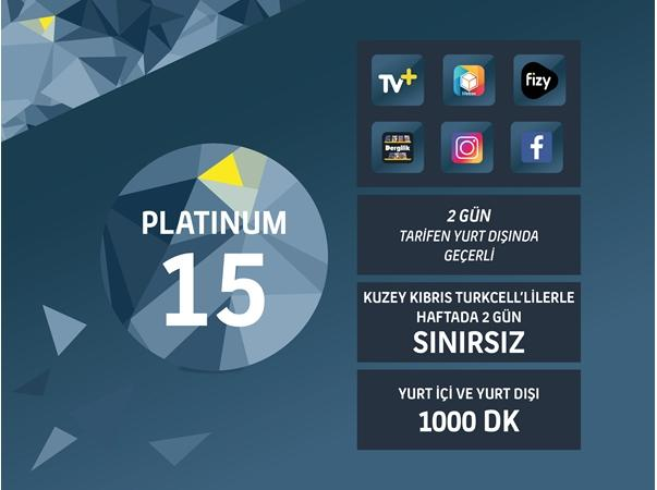 Platinum 15GB Paketi