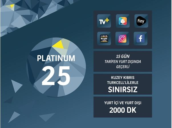 Platinum 25GB Paketi