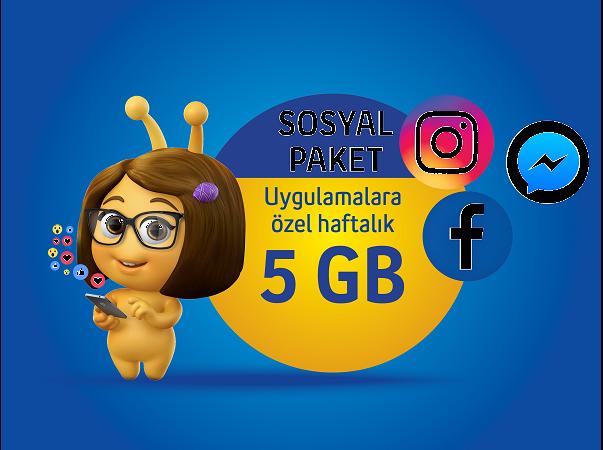 Sosyal Paket 5GB