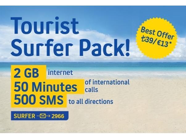 Turist Surfer Paketi