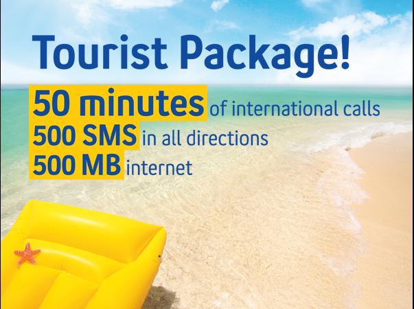 Turist Hazır Kartlı Paket