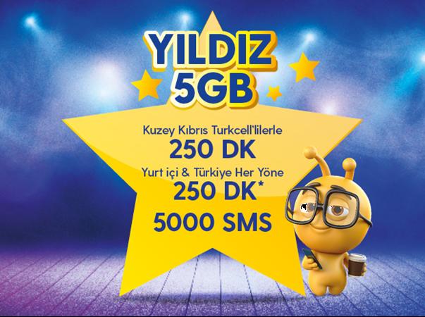 Yıldız 5GB Paketi