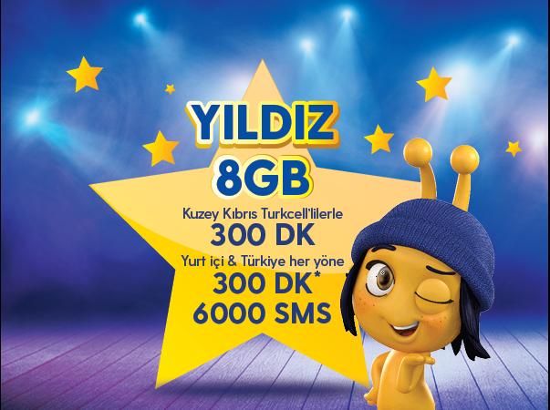 Yıldız 8GB Paketi