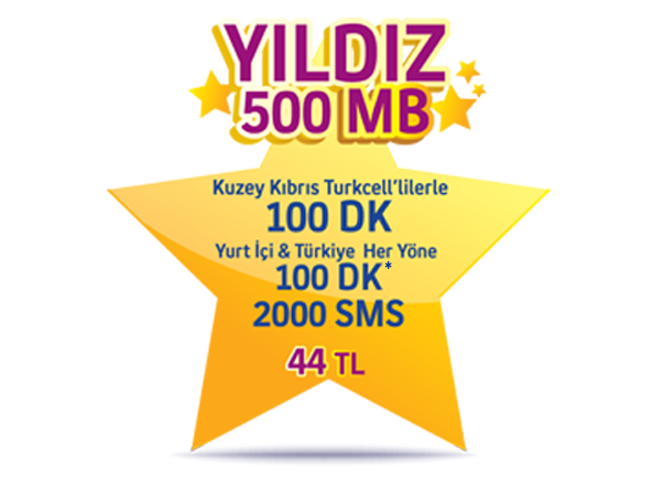Star 500MB Package