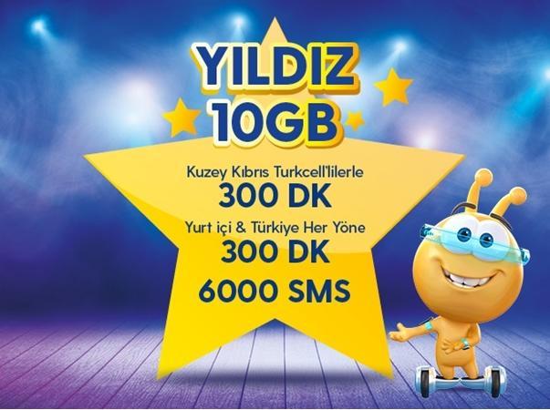 Yıldız 10GB Paketi